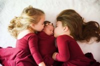Now I have THREE precious Great Nieces!