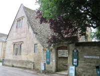 Bampton Library which was used as the Downton Hospital