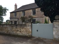 Bampton private home that was used as exterior to Cousin Isabel's home on Downton Abbey
